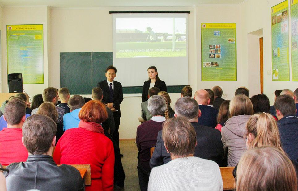 MIND-лекція у Вінницькому національному аграрному університеті
