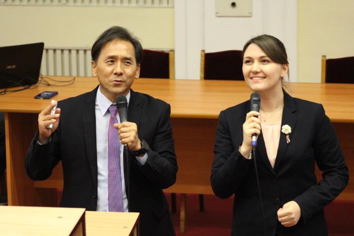 MIND-лекція у Київському національному лінгвістичному університеті