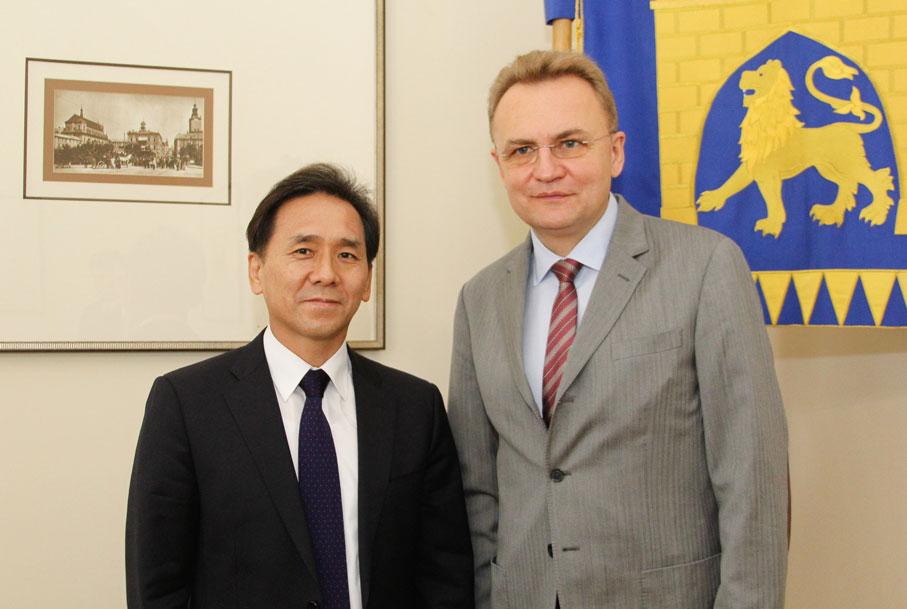 Зустріч із мером Львова Андрієм Садовим
