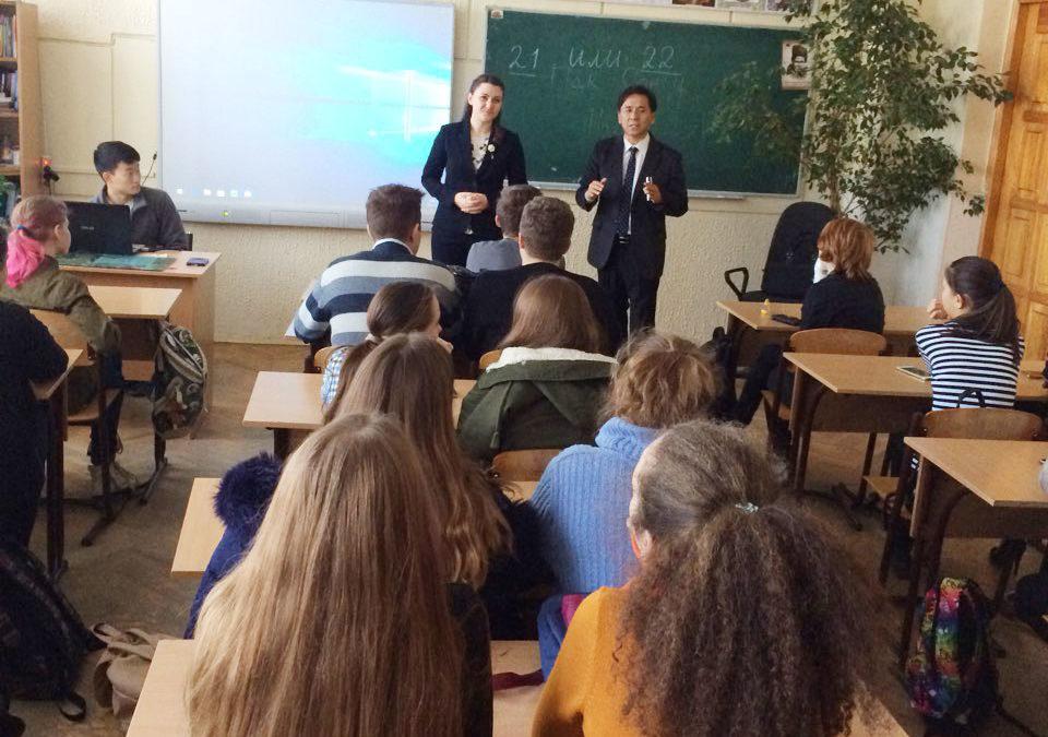 Mind-лекція у школі ім. С.П. Корольова м. Києва