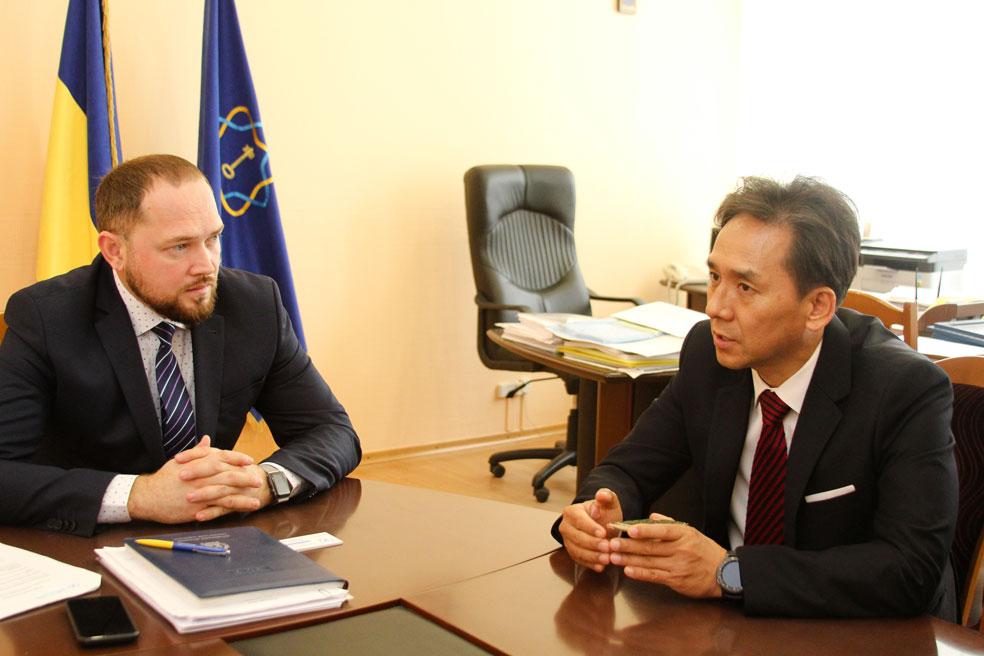 Зустріч із ректором Житомирського державного технологічного університету