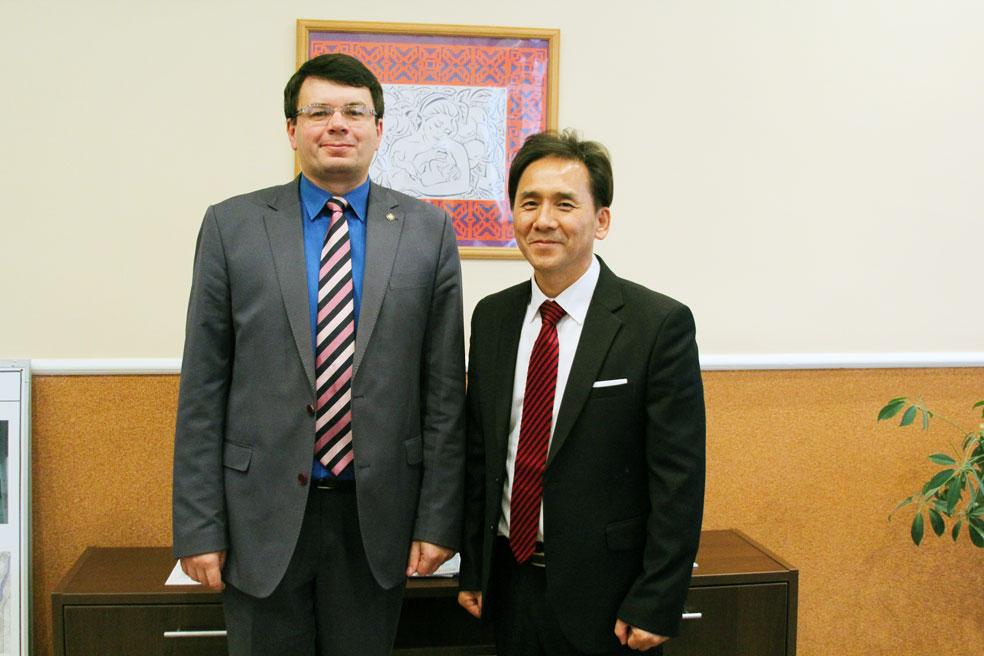 Зустріч із виконуючим обов'язки ректора Житомирського державного університету ім. Івана Франка