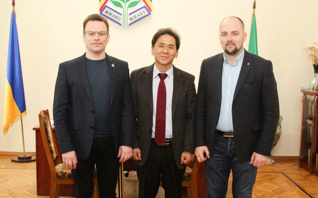 Зустріч із ректором Житомирського національного агроекологічного університету