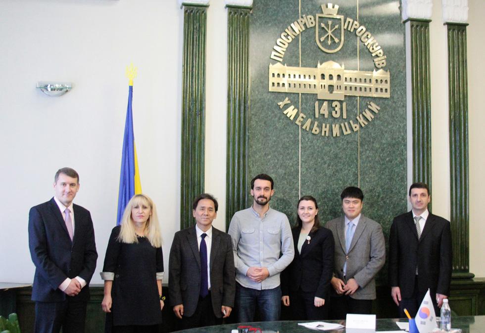 Зустріч із заступником мера м. Хмельницький Мельник Галиною Леонтіївною