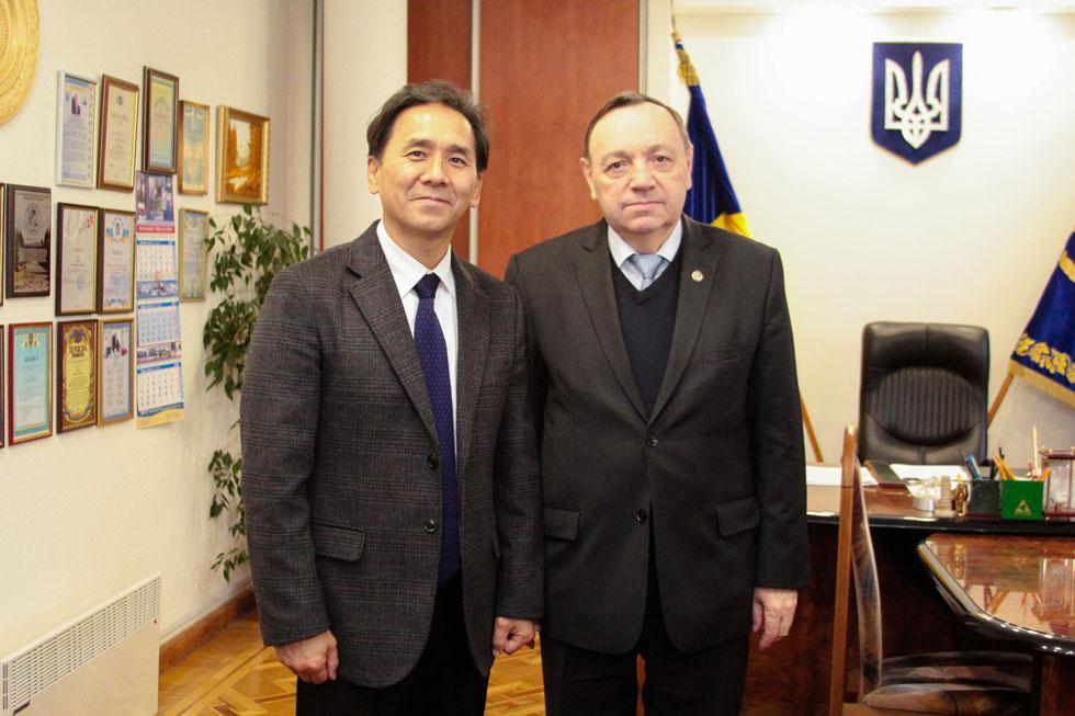 Зустріч із ректором Хмельницького національного університету