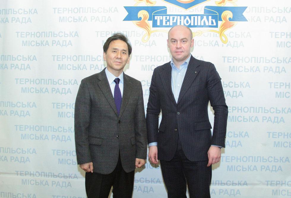 Зустріч із мером м. Тернопіль