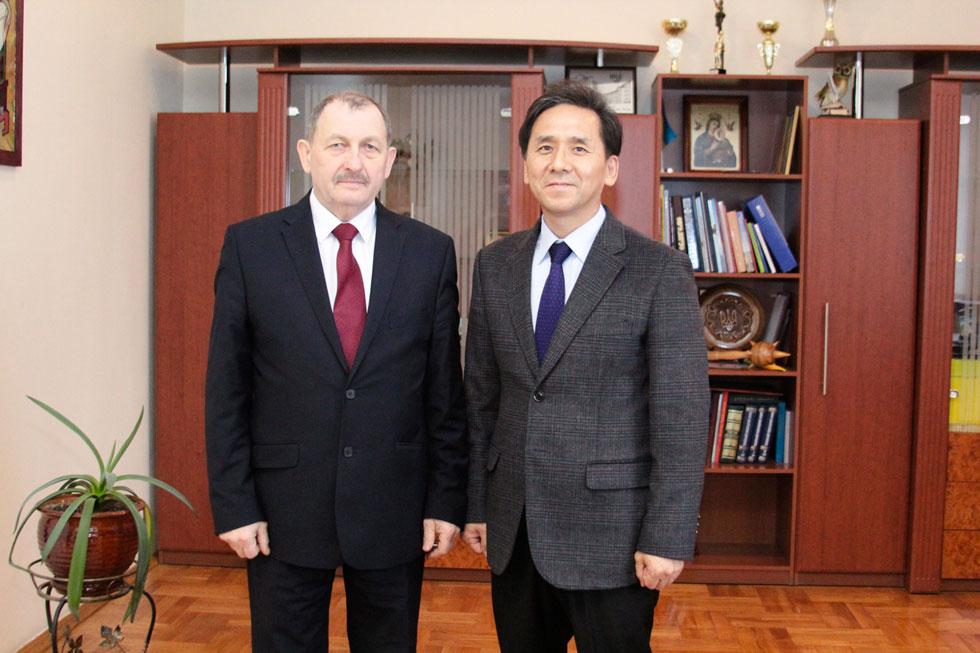 Зустріч із ректором Тернопільського національного технічного університету ТНТУ