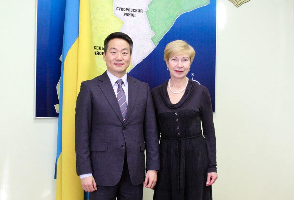 Зустріч із представниками Херсонської обласної державної адміністрації