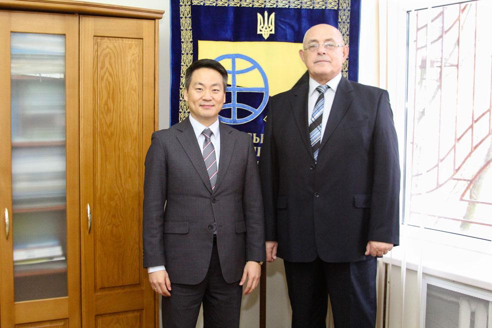 Зустріч із ректором Херсонського національного технічного університету