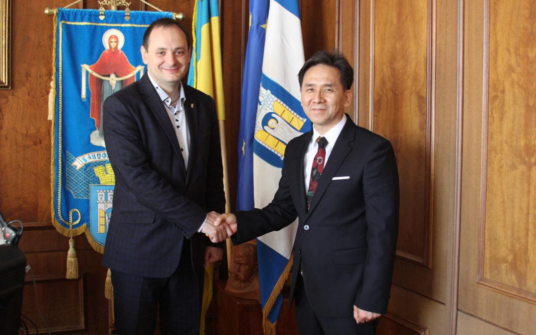 Зустріч із мером Івано-Франківська