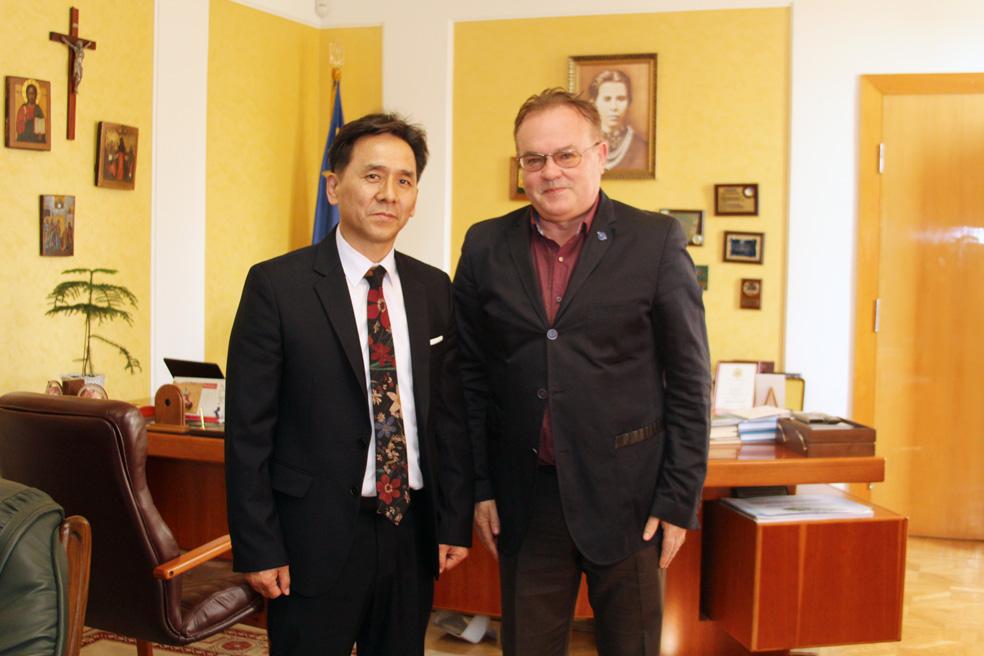 Зустріч із ректором СНУ ім. Лесі Українки