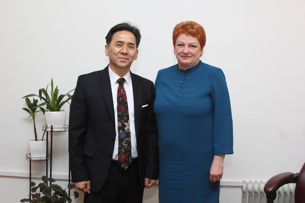 Зустріч ректора IMEI із заступником губернатора Волинської області