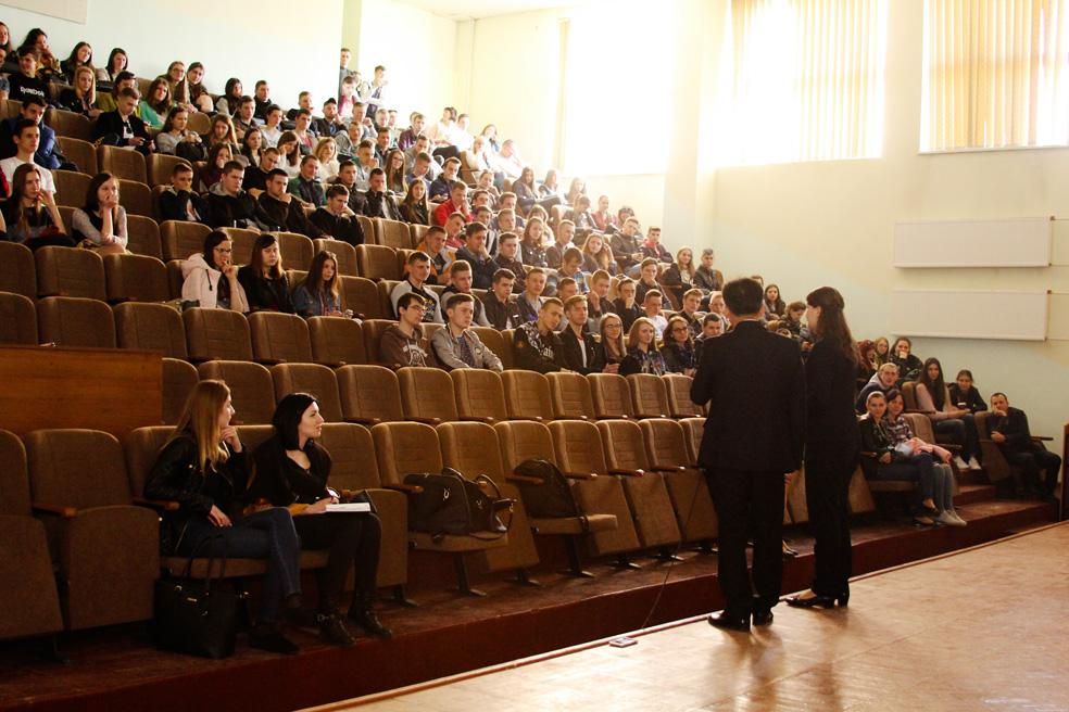 Майнд-лекція у Луцькому національному технічному університеті