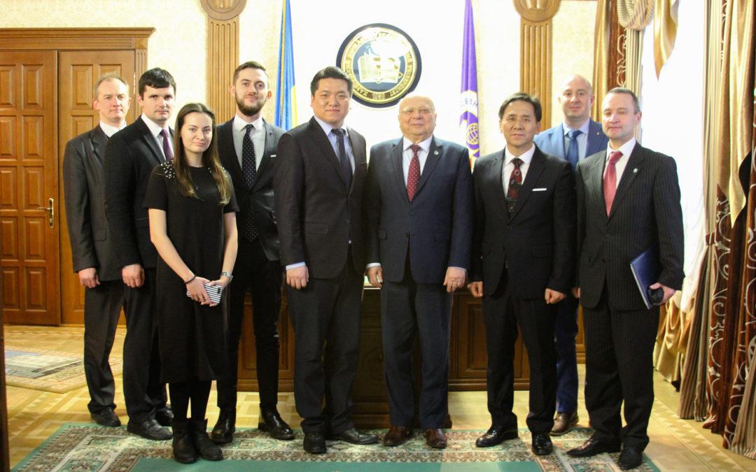 Зустріч із ректором Харківського національного економічного університету