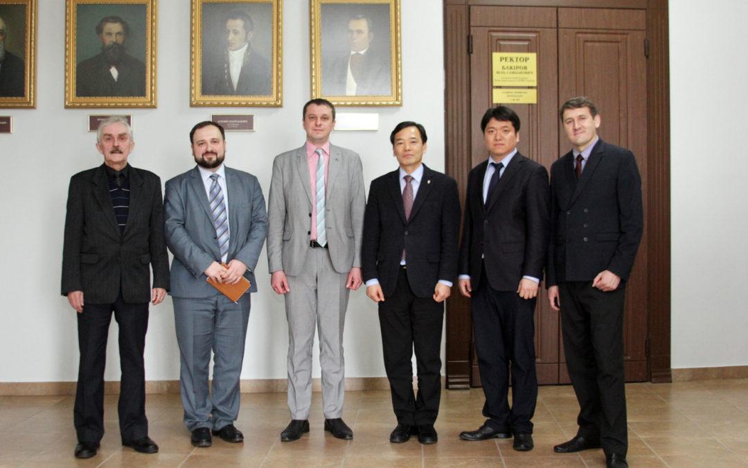 Зустріч із проректором Харківського національного університету ім. Каразіна