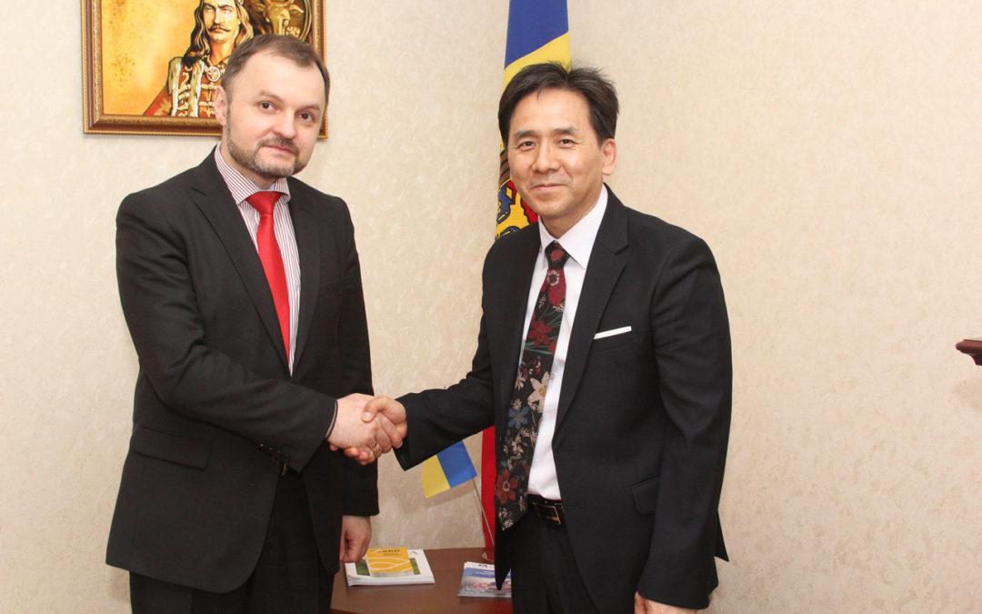 Зустріч із послом Молдови паном Болбочан Русланом