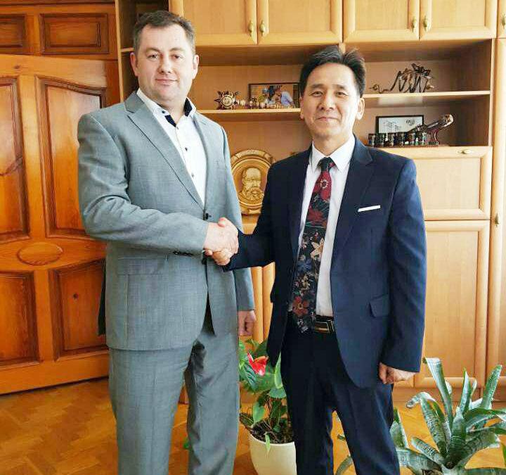 Зустріч із ректором Луцького національного технічного університету