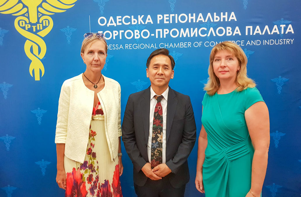 Форум підприємців Україна-Корея (м. Одеса). MIND-лекція