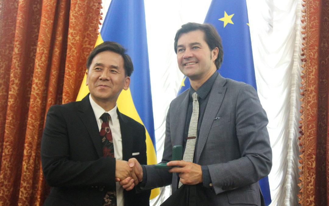 Зустріч із Міністром культури України Євгеном Ніщуком