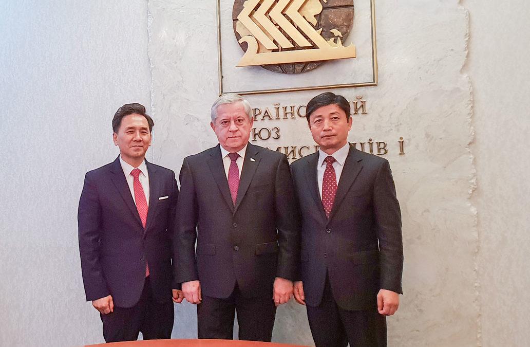 Зустріч із екс-прем'єр-міністром України Анатолієм Кінахом