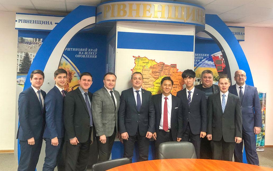 Зустріч із губернатором Рівненської області